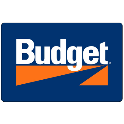 BUDGET<sup>&reg;</sup> Rental $100 Gift Card – Use this Budget<sup>&reg;</sup> $100 gift card to reserve your next rental car, truck or van.