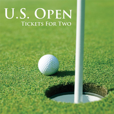 U.S. OPEN™ Tickets - It's a golfers dream!  2 tickets to one day of the U.S. Open.  Tickets subject to availability based on date of request. Airfare not included.